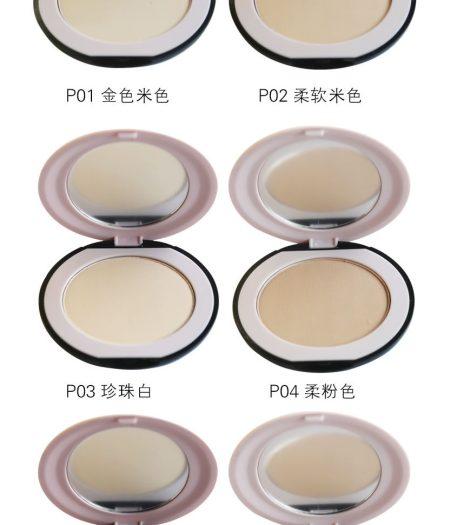 Dr. Rashel Soft Velvet Matte Pressed Face Powder for Ladies - Golden Beige 1
