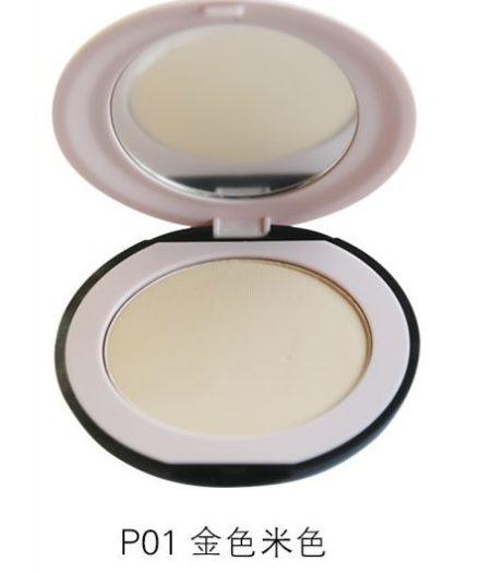 Dr. Rashel Soft Velvet Matte Pressed Face Powder for Ladies - Golden Beige 2