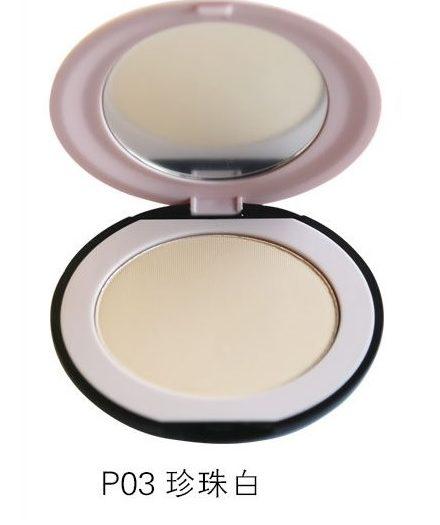 Dr. Rashel Soft Velvet Matte Pressed Face Powder for Ladies - Mat Pearl