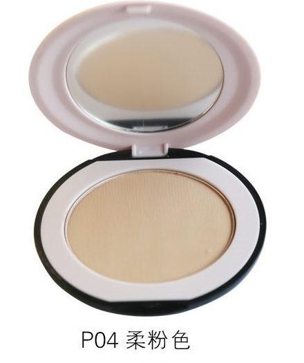 Dr. Rashel Soft Velvet Matte Pressed Face Powder for Ladies - Beige Ivory