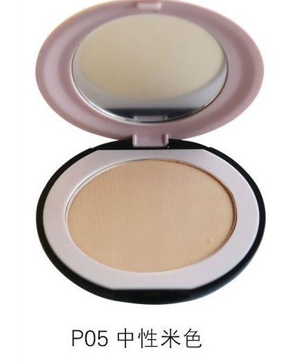 Dr. Rashel Soft Velvet Matte Pressed Face Powder for Ladies - Nature Beige