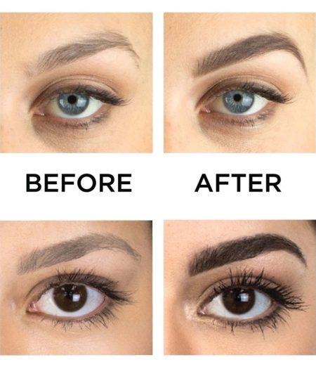Dr. Rashel Ladies Long Wearing 3 Color Eyebrow Powder for Girls & Women 1