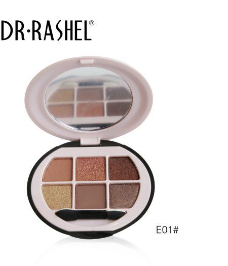 Dr. Rashel Ladies 6 in 1 Velvet Touch Eye Shadow for Girls & Women - Bella Sofia