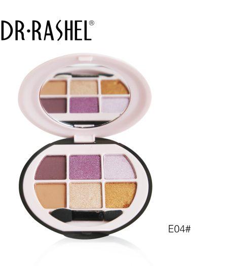 Dr. Rashel Ladies 6 in 1 Velvet Touch Eye Shadow for Girls & Women - The Glamour Muse