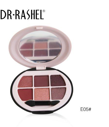 Dr. Rashel Ladies 6 in 1 Velvet Touch Eye Shadow for Girls & Women - The Uptown Girl