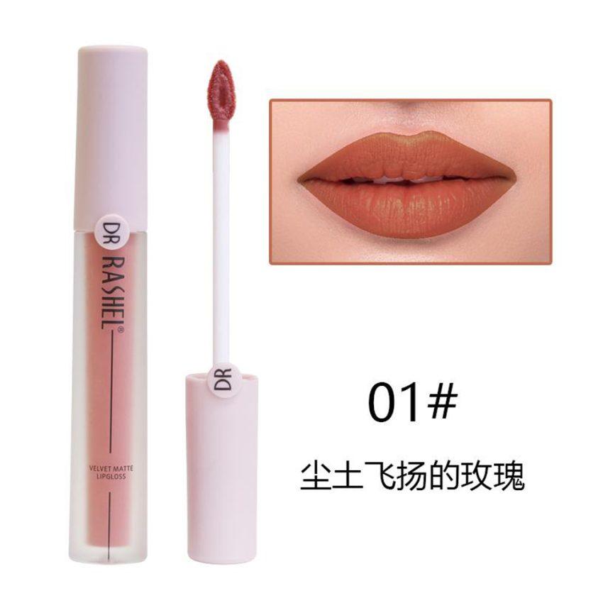Dr Rasheal Velvet Matte Lip Gloss - 01