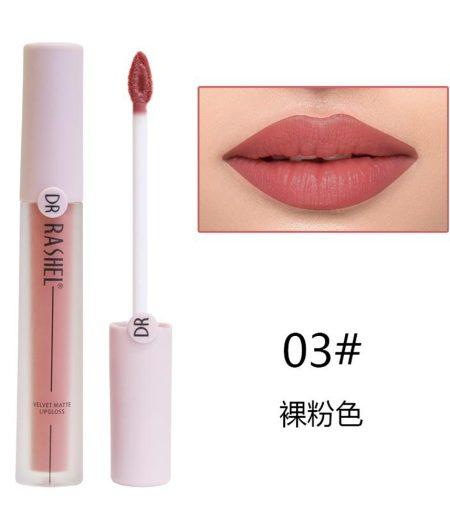Dr. Rashel Velvet Matte Lip Gloss - 03