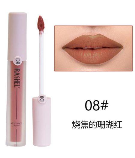 Dr. Rashel Velvet Matte Lip Gloss - 08