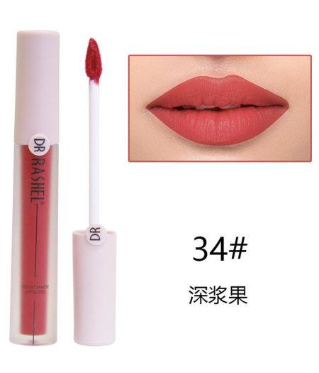 Dr. Rashel Velvet Matte Lip Gloss - 34