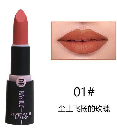 Dr. Rashel Velvet Matte Lipstick for Ladies - 01 1