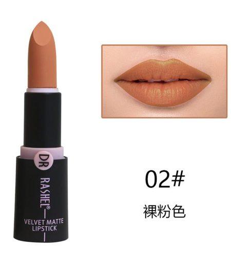 Dr. Rashel Velvet Matte Lipstick for Ladies - 02