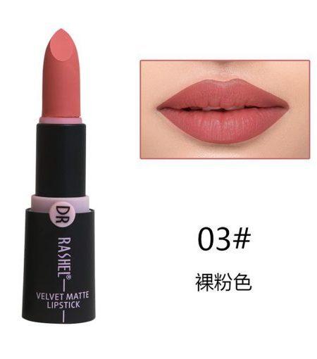 Dr. Rashel Velvet Matte Lipstick for Ladies - 03
