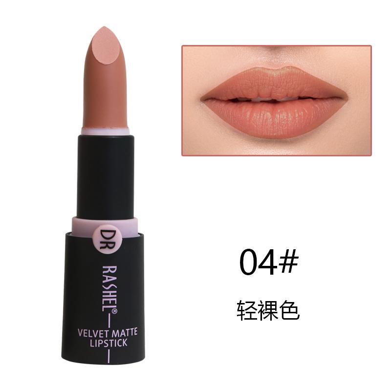 Dr. Rashel Velvet Matte Lipstick for Ladies - 04