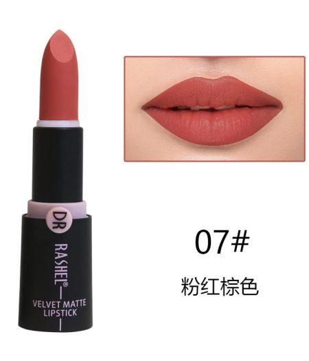 Dr. Rashel Velvet Matte Lipstick for Ladies - 07