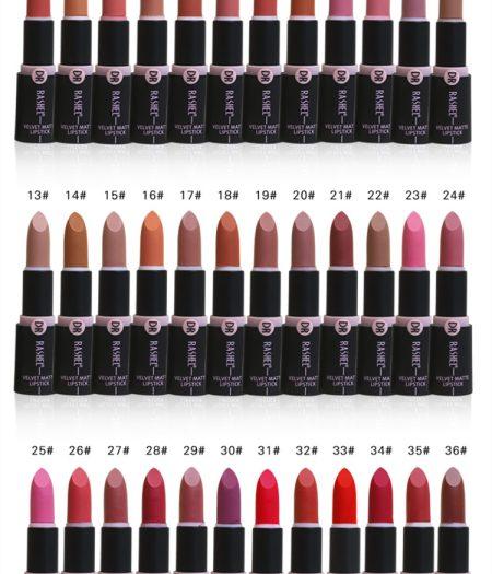 Dr. Rashel Velvet Matte Lipstick for Ladies - 01 3