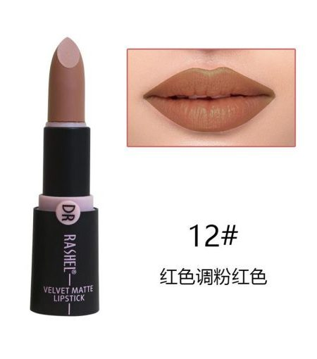 Dr. Rashel Velvet Matte Lipstick for Ladies - 12
