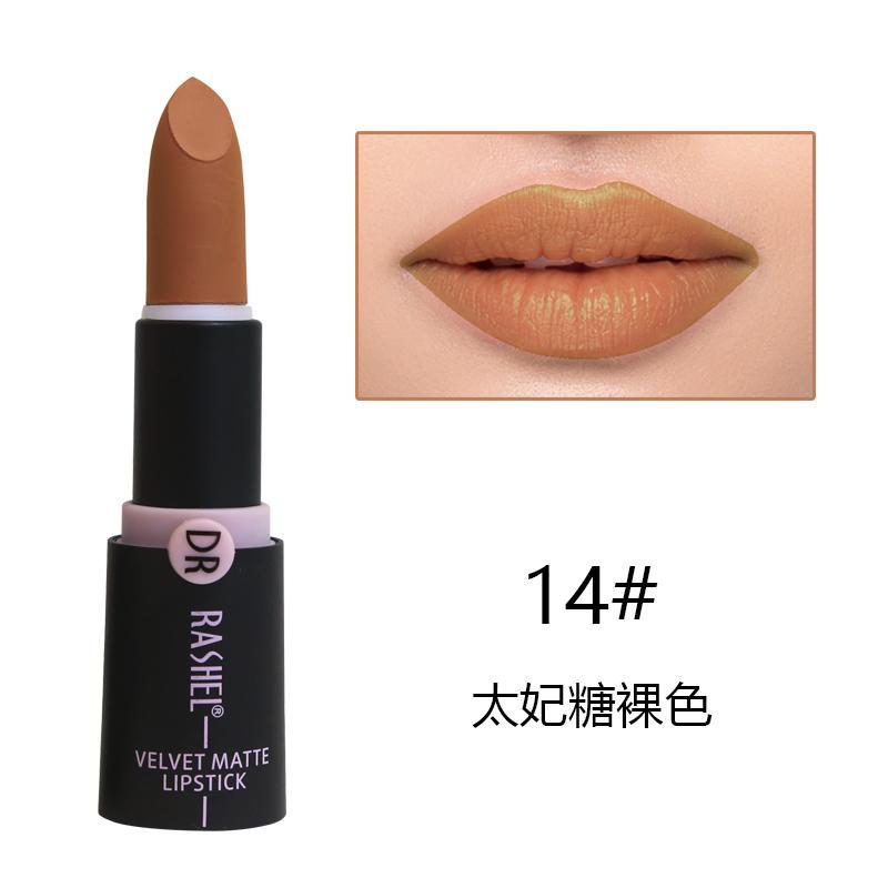 Dr. Rashel Velvet Matte Lipstick for Ladies - 14
