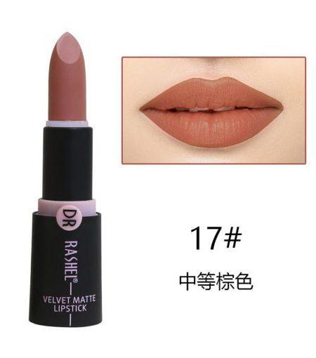 Dr. Rashel Velvet Matte Lipstick for Ladies - 17