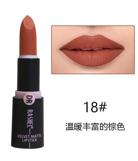 Dr. Rashel Velvet Matte Lipstick for Ladies - 18