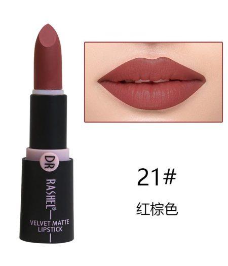 Dr. Rashel Velvet Matte Lipstick for Ladies - 21