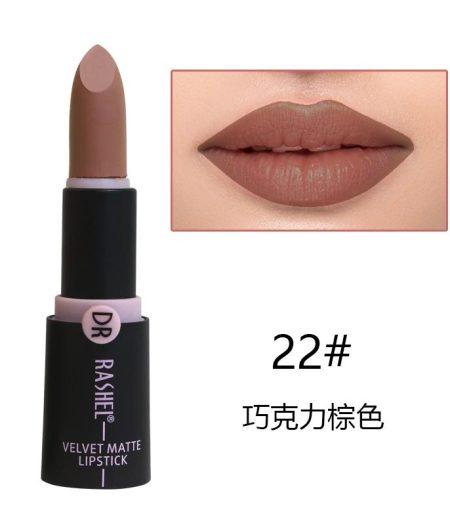 Dr. Rashel Velvet Matte Lipstick for Ladies - 22