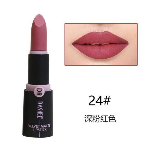 Dr. Rashel Velvet Matte Lipstick for Ladies - 24