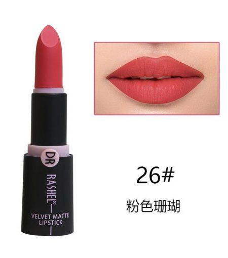 Dr. Rashel Velvet Matte Lipstick for Ladies - 26