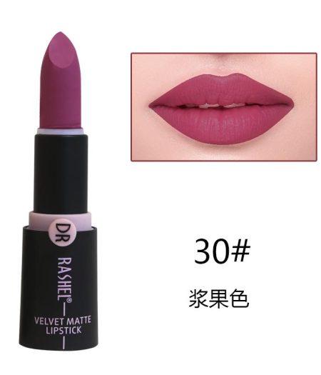 Dr. Rashel Velvet Matte Lipstick for Ladies - 30