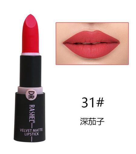 Dr. Rashel Velvet Matte Lipstick for Ladies - 31