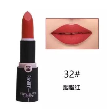 Dr. Rashel Velvet Matte Lipstick for Ladies - 32