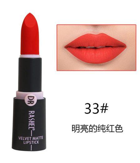 Dr. Rashel Velvet Matte Lipstick for Ladies - 33