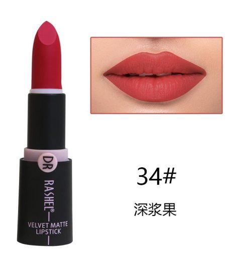 Dr. Rashel Velvet Matte Lipstick for Ladies - 34