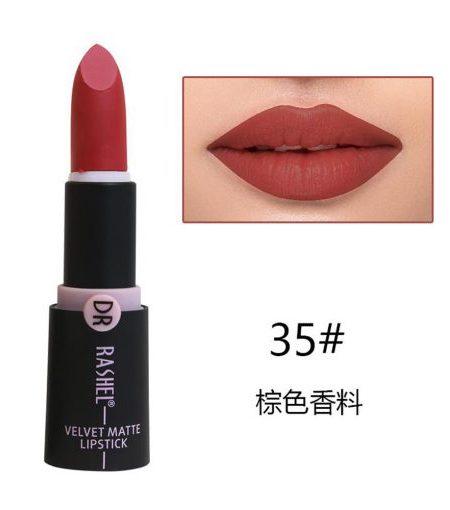Dr. Rashel Velvet Matte Lipstick for Ladies - 35
