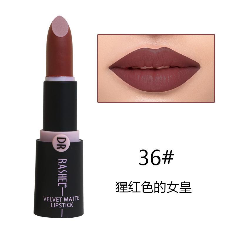 Dr. Rashel Velvet Matte Lipstick for Ladies - 36