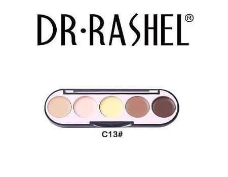 Dr. Rashel 5 Colors Highlight & Contour Palette for Ladies - C13 2