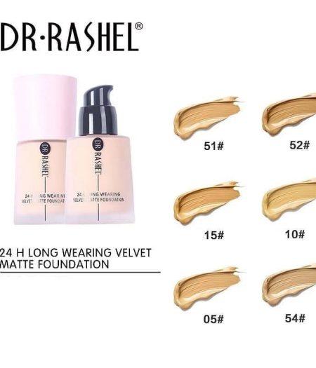 Dr. Rashel 24 Hours Long Wearing Velvet Matte Foundation For Ladies - 05 2