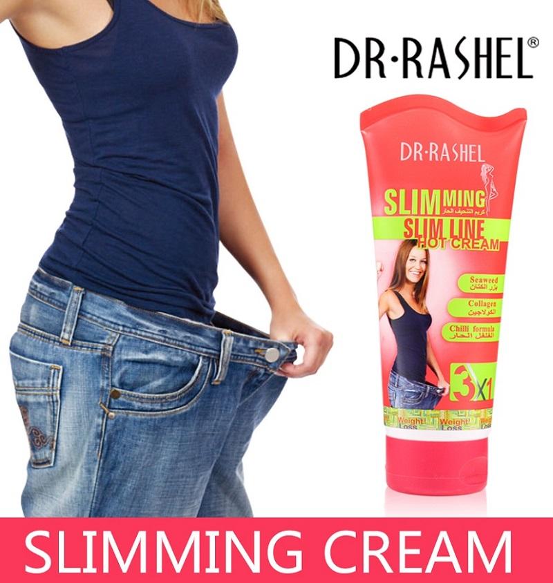 Dr Rasheal Slim Line Hot Slimming Lose Weight Cream 150gm - 1