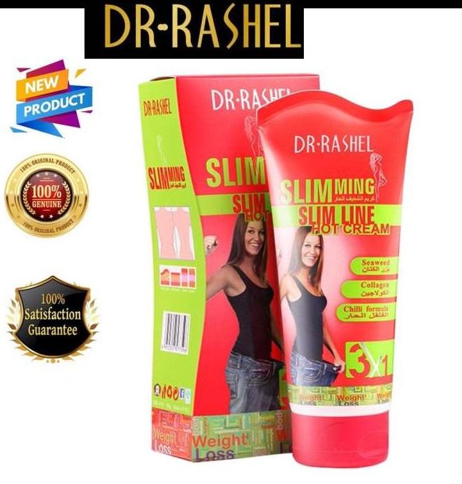 Dr Rasheal Slim Line Hot Slimming Lose Weight Cream 150gm - 3