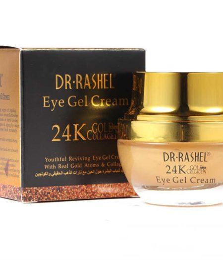 Dr. Rashel 24K Gold Collagen Eye Skin Care Whitening Anti Wrinkle Eye Gel Cream - 4