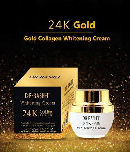 Dr Rasheal 24K Gold Brightening Whitening Cream 30ml - 3