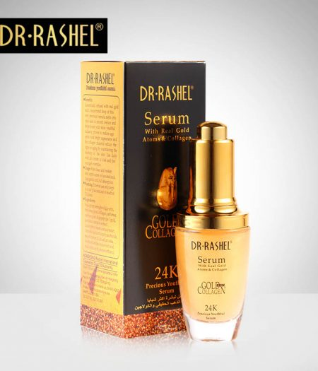 Dr Rasheal Youthful Serum With Real Gold Atoms & Collagen 24K 40ml - 1