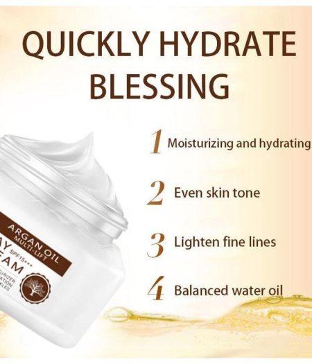 Dr. Rashel Argan Oil Day Cream SPF 15+++ Daily Moisturizer 3
