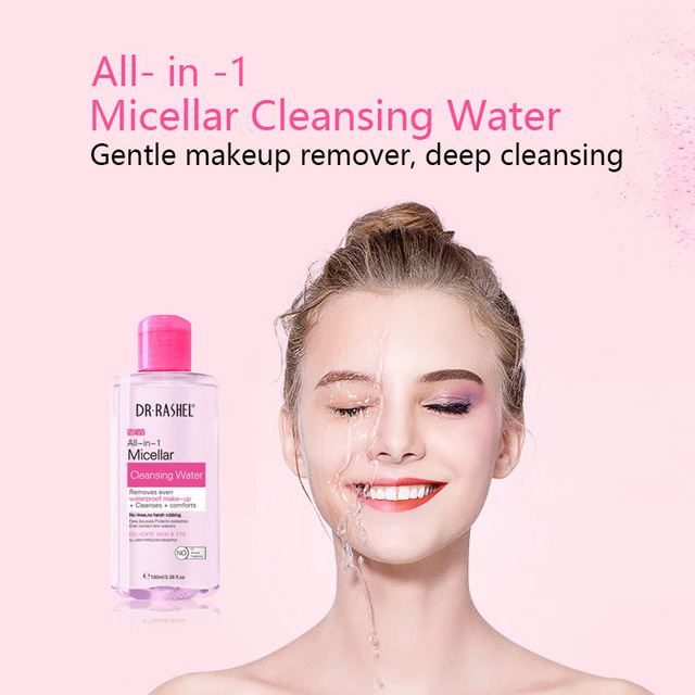 Dr. Rashel Comforts Removes Even Waterproof Makeup Remover 3