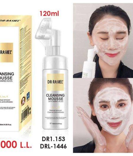 Dr. Rashel Bubble Freckles Makeup Removal 4