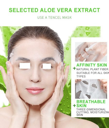 Dr. Rashel Aloe Vera Smooth Mask 1
