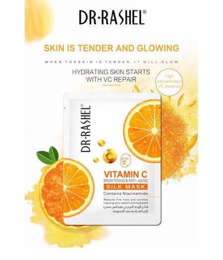 Dr. Rashel Vitamin C Brightening & Anti Aging Silk Mask 1