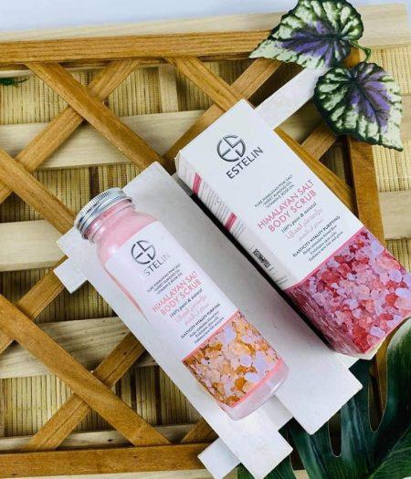 Estelin Skin Care Himalayan Salt Body Scrub 2