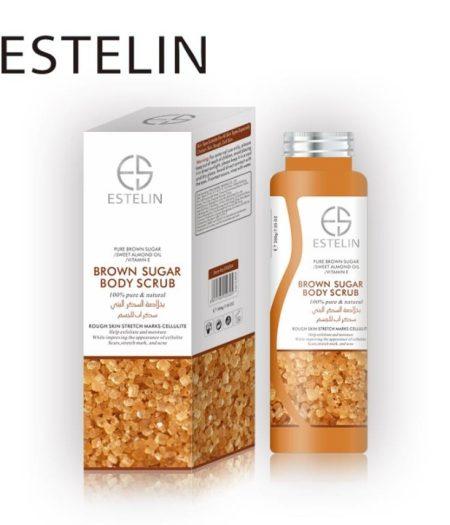 Estelin Skin Care Brown Sugar Body Scrub 2