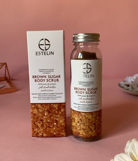 Estelin Skin Care Brown Sugar Body Scrub 1