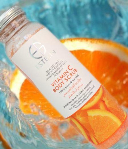 Estelin Skin Care Vitamin C Body Scrub 1